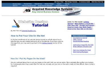 http://www.aksi.net/website-design-tutorial6.htm