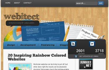 http://webitect.net/design/20-inspiring-rainbow-colored-websites/