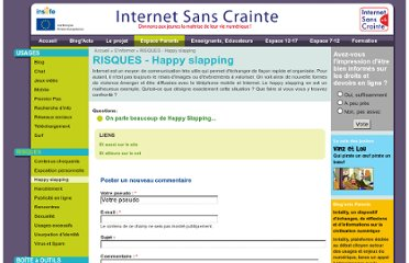 http://www.internetsanscrainte.fr/s-informer/risques-happy-slapping