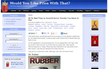 http://wouldyoulikefrieswiththat.net/b-movies/10-so-bad-theyre-good-b-horror-movies-you-have-see