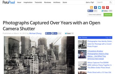 http://www.petapixel.com/2012/03/16/photographs-captured-over-years-with-an-open-camera-shutter/