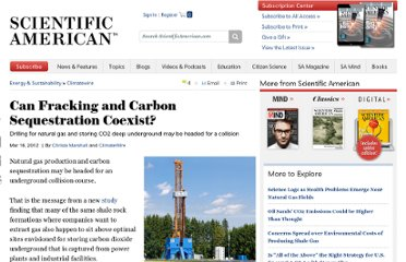 http://www.scientificamerican.com/article.cfm?id=can-fracking-and-carbon-sequestration-co-exist
