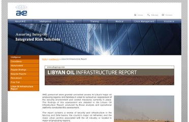 http://www.akegroup.com/intelligence/libya-oil-infrastructure-report.php