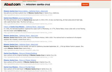 http://gocalifornia.about.com/lr/mission_santa_cruz/1208723/1/