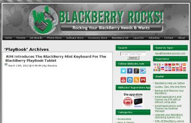 http://blackberryrocks.com/tag/playbook/