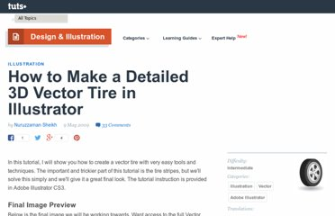 http://vector.tutsplus.com/tutorials/illustration/how-to-make-a-detailed-3d-vector-tire-in-illustrator/