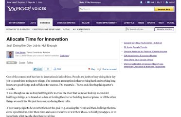 http://voices.yahoo.com/allocate-time-innovation-4998522.html