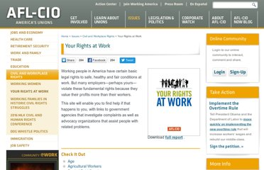 http://www.aflcio.org/Issues/Civil-and-Workplace-Rights/Your-Rights-at-Work