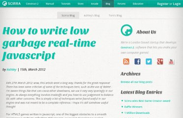 http://www.scirra.com/blog/76/how-to-write-low-garbage-real-time-javascript