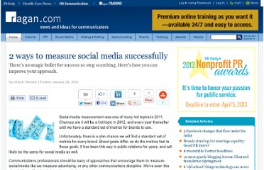 http://www.ragan.com/Main/Articles/2_ways_to_measure_social_media_successfully__44271.aspx