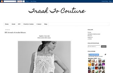 http://www.trashtocouture.com/2012/03/diy-touch-of-crochet-blouse.html
