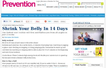http://www.prevention.com/fitness/strength-training/2-week-belly-flattening-routine?page=3