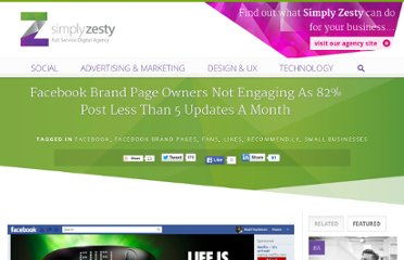 http://www.simplyzesty.com/facebook/facebook-brand-page-owners-not-engaging-as-82-post-less-than-5-updates-a-month/