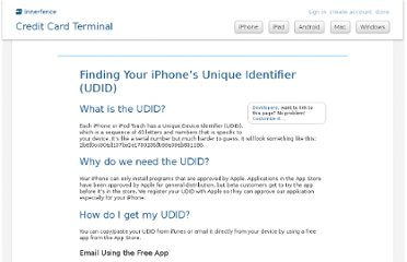 http://www.innerfence.com/howto/find-iphone-unique-device-identifier-udid