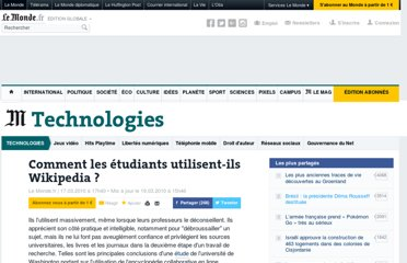 http://www.lemonde.fr/technologies/article/2010/03/17/comment-les-etudiants-utilisent-ils-wikipedia_1320623_651865.html