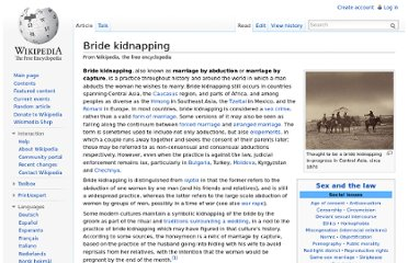 http://en.wikipedia.org/wiki/Bride_kidnapping