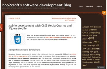 http://hop2croft.wordpress.com/2012/03/17/mobile-development-with-css3-media-queries-and-jquery-mobile/