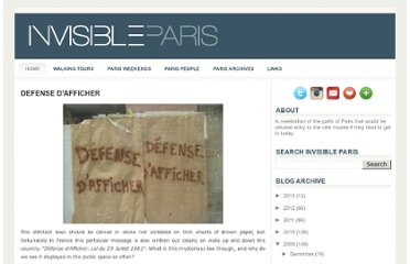 http://parisisinvisible.blogspot.com/2009/08/defense-dafficher.html