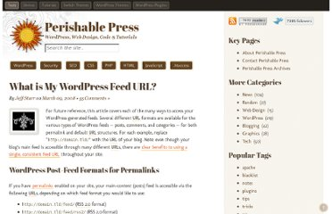 http://perishablepress.com/what-is-my-wordpress-feed-url/