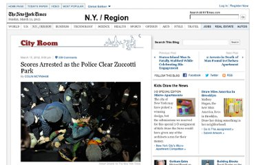 http://cityroom.blogs.nytimes.com/2012/03/17/arrests-made-as-protesters-mark-occupy-wall-streets-six-month-anniversary/