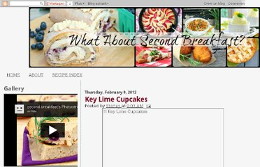 http://whataboutsecondbreakfast.blogspot.com/2012/02/key-lime-cupcakes.html
