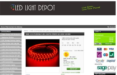 http://www.ledlightdepot.co.uk/14-led-light-strips-flexible-strip-lights.html