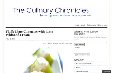 http://theculinarychronicles.com/2011/07/08/fluffy-lime-cupcakes-with-lime-whipped-cream/