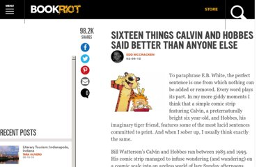http://bookriot.com/2012/02/06/sixteen-things-calvin-and-hobbes-said-better-than-anyone-else/