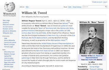 http://en.wikipedia.org/wiki/William_M._Tweed