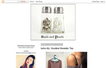 http://www.studs-and-pearls.com/2011/08/bella-diy-studded-shoulder-top.html#more