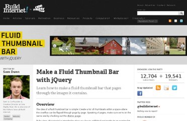 http://buildinternet.com/2011/06/make-a-fluid-thumbnail-bar-with-jquery/