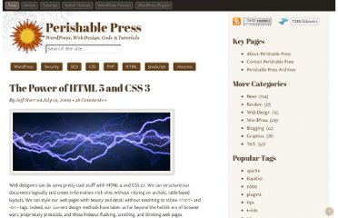 http://perishablepress.com/power-of-html5-css3/