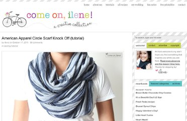 http://www.comeonilene.com/2011/10/17/american-apparel-circle-scarf-knock-off-tutorial/