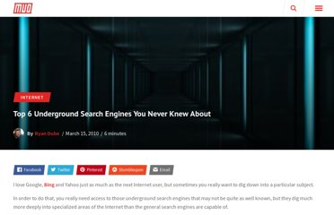 http://www.makeuseof.com/tag/top-7-underground-search-engines-knew/