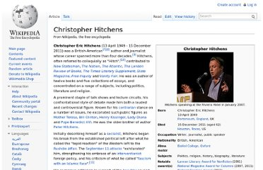 http://en.wikipedia.org/wiki/Christopher_Hitchens