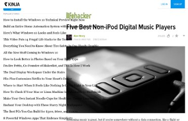 http://lifehacker.com/5894125/five-best-non+ipod-digital-music-players