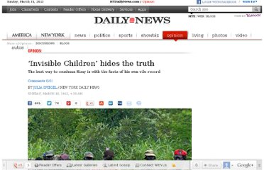 http://www.nydailynews.com/opinion/invisible-children-hides-truth-article-1.1041118