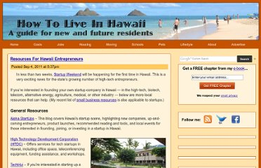 http://www.howtoliveinhawaii.com/3378/resources-for-hawaii-entrepreneurs/