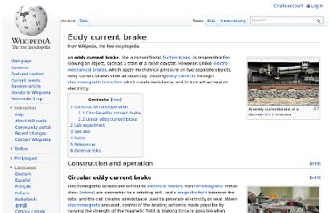 http://en.wikipedia.org/wiki/Eddy_current_brake