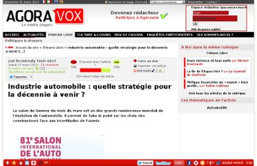 http://www.agoravox.fr/tribune-libre/article/industrie-automobile-quelle-112320
