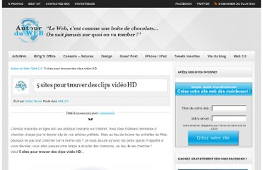http://www.autourduweb.fr/5-sites-trouver-clips-video-hd/