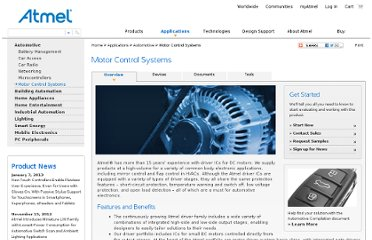 http://www.atmel.com/applications/automotive/motor_control_systems/default.aspx?tab=overview