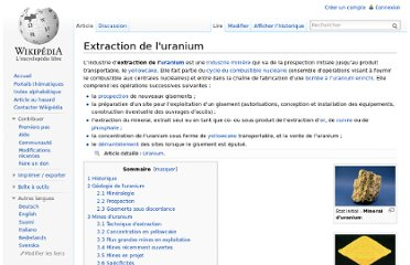 http://fr.wikipedia.org/wiki/Extraction_de_l%27uranium#Production_mondiale