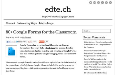 http://edte.ch/blog/2008/08/23/10-google-forms-for-the-classroom/#.T2FKC8MwlPu.email