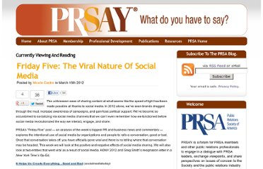 http://prsay.prsa.org/index.php/2012/03/16/friday-five-the-viral-nature-of-social-media/