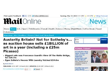 http://www.dailymail.co.uk/news/article-2117047/Austerity-Britain-Not-Sothebys--auction-house-sells-1BILLION-art-year-including-25m-Picasso.html