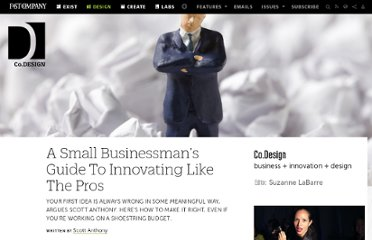 http://www.fastcodesign.com/1669246/a-small-businessmans-guide-to-innovating-like-the-pros