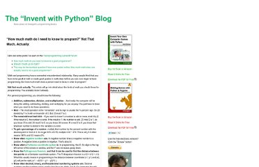 http://inventwithpython.com/blog/2012/03/18/how-much-math-do-i-need-to-know-to-program-not-that-much-actually/