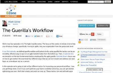http://agile.dzone.com/articles/guerillas-workflow