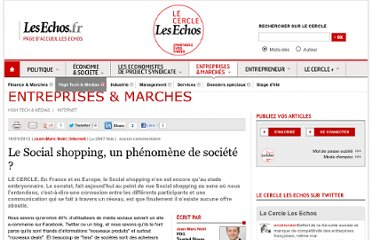 http://lecercle.lesechos.fr/entreprises-marches/high-tech-medias/internet/221142385/social-shopping-phenomene-societe